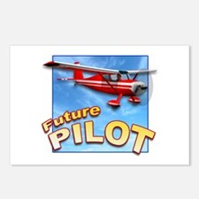 Red Small Plane, Future Pilot Postcards (Package o