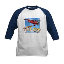 Red Small Plane, Future Pilot Tee