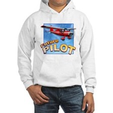 Red Small Plane, Future Pilot Hoodie