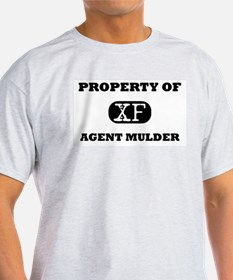 Property of Agent Mulder X-Files T-Shirt