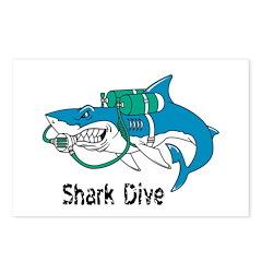 Shark Dive Postcards (Package of 8)