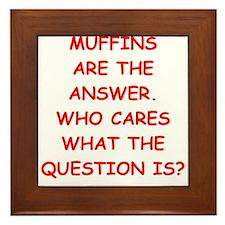 muffin Framed Tile