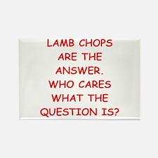 lamb chops Rectangle Magnet (10 pack)