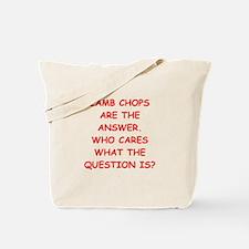 lamb chops Tote Bag