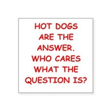 hot dogs Sticker