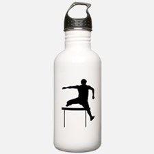 Hurdler Silhouette Water Bottle