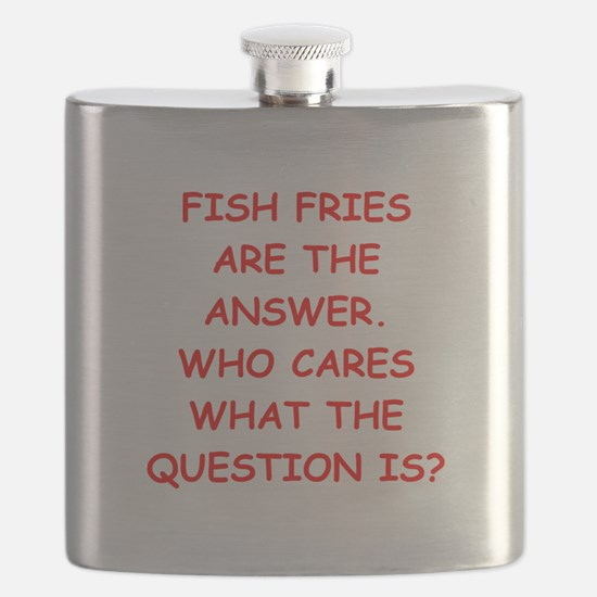 fish fries Flask