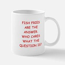 fish fries Mug