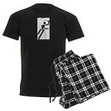 Tennis player Men's Dark Pajamas