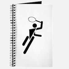 Tennis Silhouette Journal