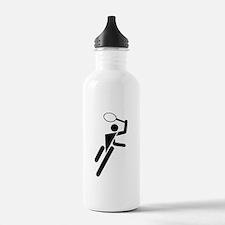 Tennis Silhouette Water Bottle