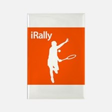 iRally Rectangle Magnet