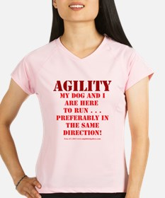 Directionally Challenged Peformance Dry T-Shirt