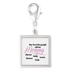 Mommy personalized kids Charms