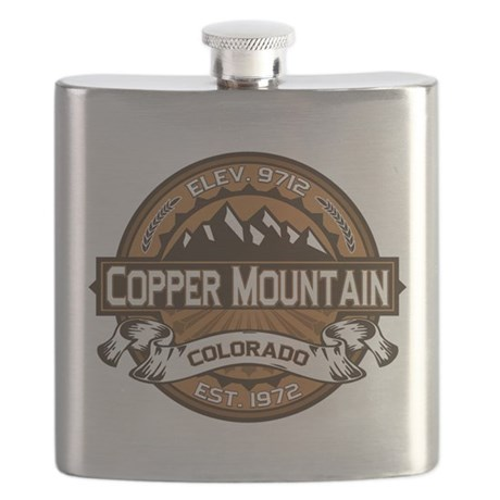 Copper Mountain Copper Flask