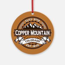 Copper Mountain Copper Ornament (Round)