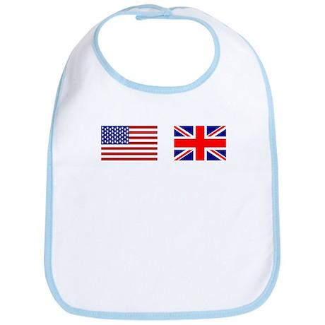 USA / UK Flags Bib