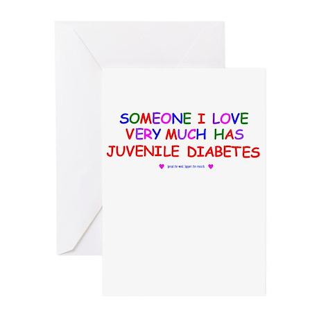 Juvenile Diabetes Greeting Cards (Pk of 10)