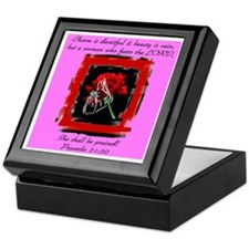 Proverbs 31 Keepsake Box