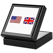 USA & Union Jack Keepsake Box