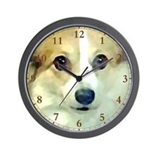 Pembroke Corgi Clock face Wall Clock