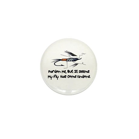 Fly Undone Mini Button (10 pack)