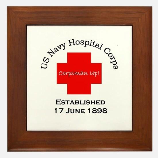 Established 17 June 1898 Framed Tile
