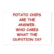 potato Postcards (Package of 8)