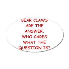 bear claws Wall Decal