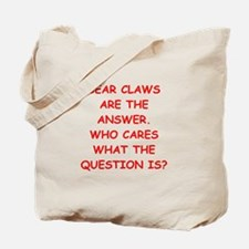 bear claws Tote Bag