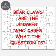 bear claws Puzzle