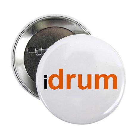 I Drum (orange) Button