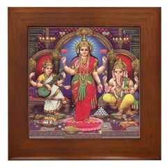 Lakshmi Framed Tile