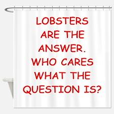 lobster Shower Curtain