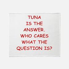 tuna Throw Blanket