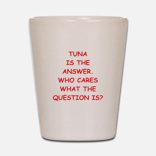 tuna Shot Glass