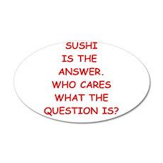 sushi Wall Decal