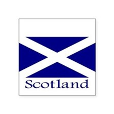 """Scotland"" Rectangle Sticker"