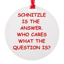 Schnitzle Ornament