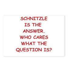 schnitzle Postcards (Package of 8)
