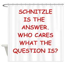 schnitzle Shower Curtain