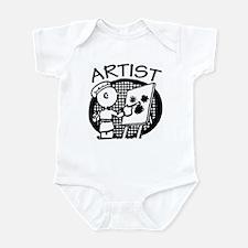 Retro Artist Infant Bodysuit