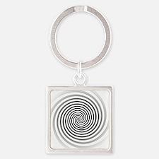HypnoDisk Square Keychain