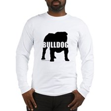Black Bulldog Long Sleeve T-Shirt