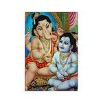 Ganesha and Krishna Magnets (10 pack)