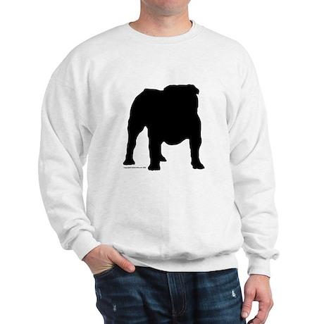 Black Bulldog Sweatshirt
