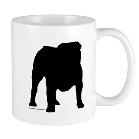 Black Bulldog Mug