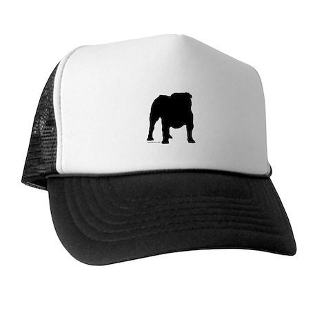 Black Bulldog Trucker Hat