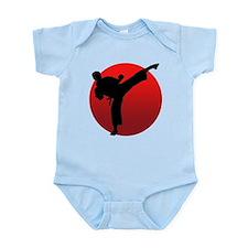 KARATE keri Infant Bodysuit