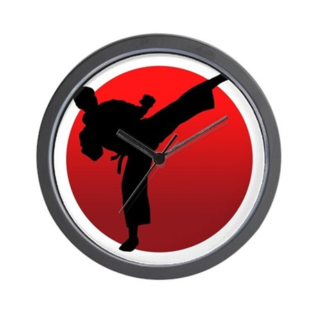KARATE keri Wall Clock